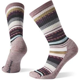 Smartwool Hike Light Margarita Crew sokker Damer, rød/farverig